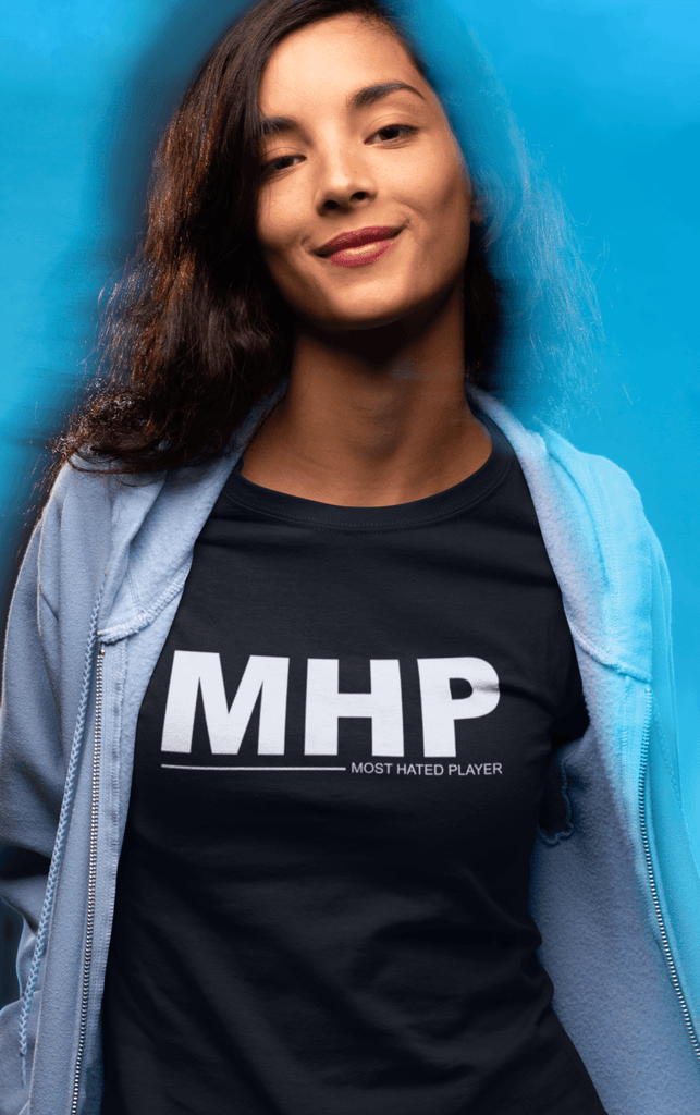 "Poker T-Shirt - ""MHP - Most Hated Player"" - Dan Pearce Creative Shop"