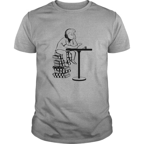Poker T-Shirt: The Studying Player