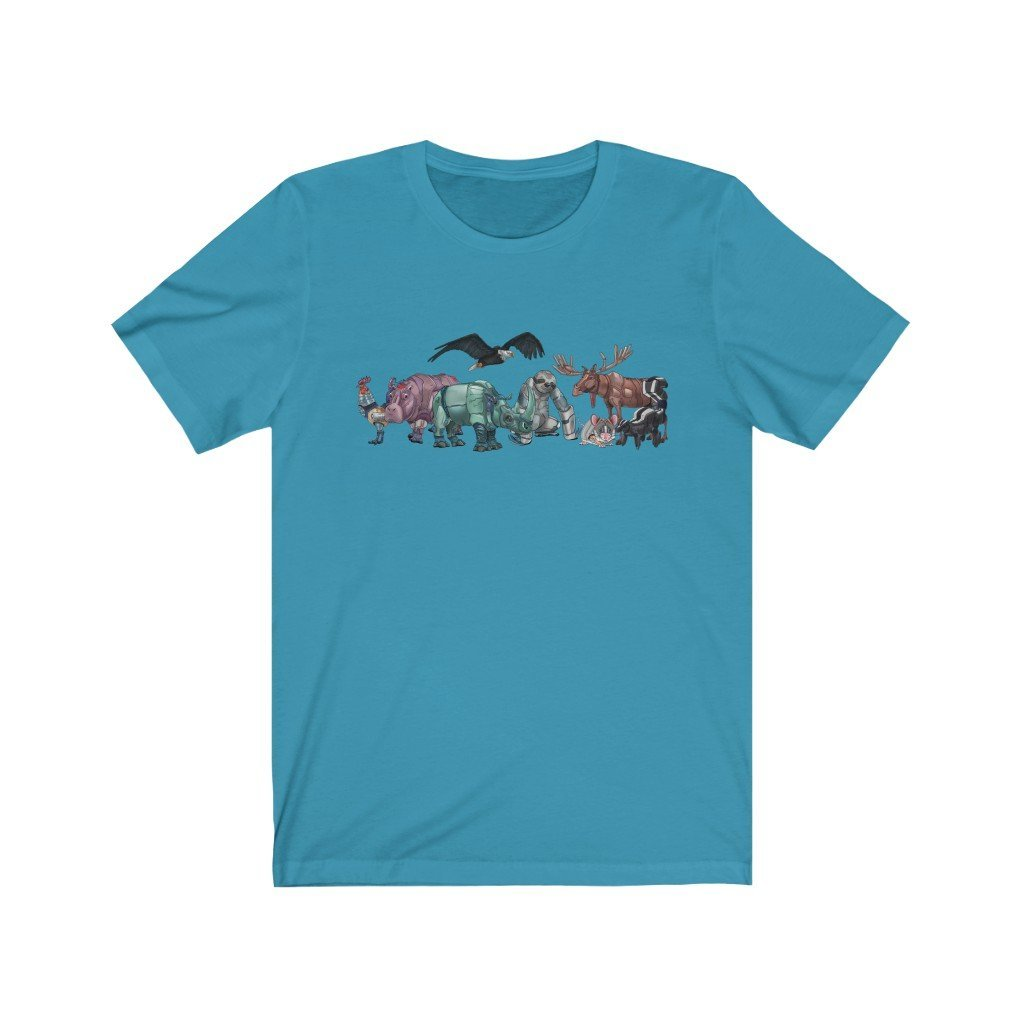 """Robot Animals"" Featured Premium Shirt - Dan Pearce Creative Shop"