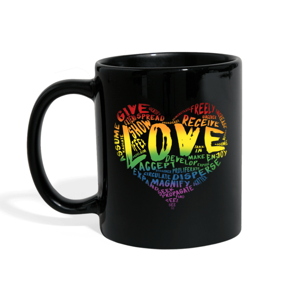 SDL's Official LOVE Mug (Black) - Dan Pearce Creative Shop