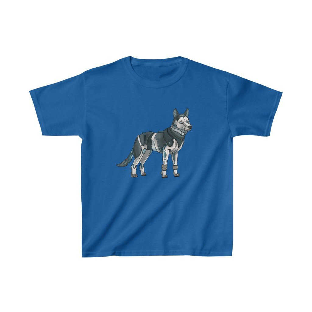 """Siberian Husky Robot"" Kids Heavy Cotton™ T-Shirt (Youth) - Dan Pearce Creative Shop"