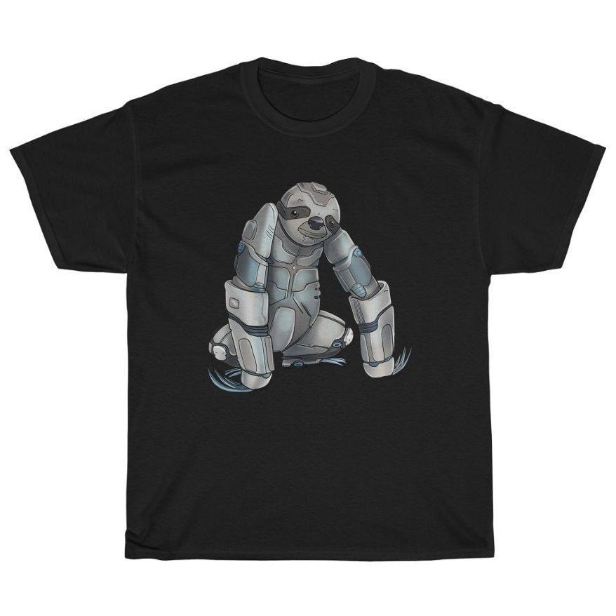 """Sloth Robot"" Premium T-Shirt - Dan Pearce Creative Shop"