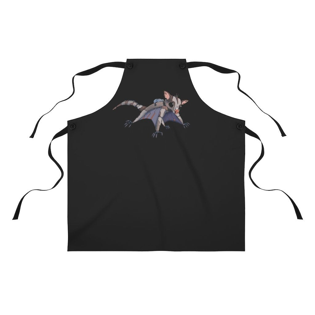 """Sugar Glider Robot"" Cooking Apron Featuring Art by Dan Pearce - Dan Pearce Creative Shop"