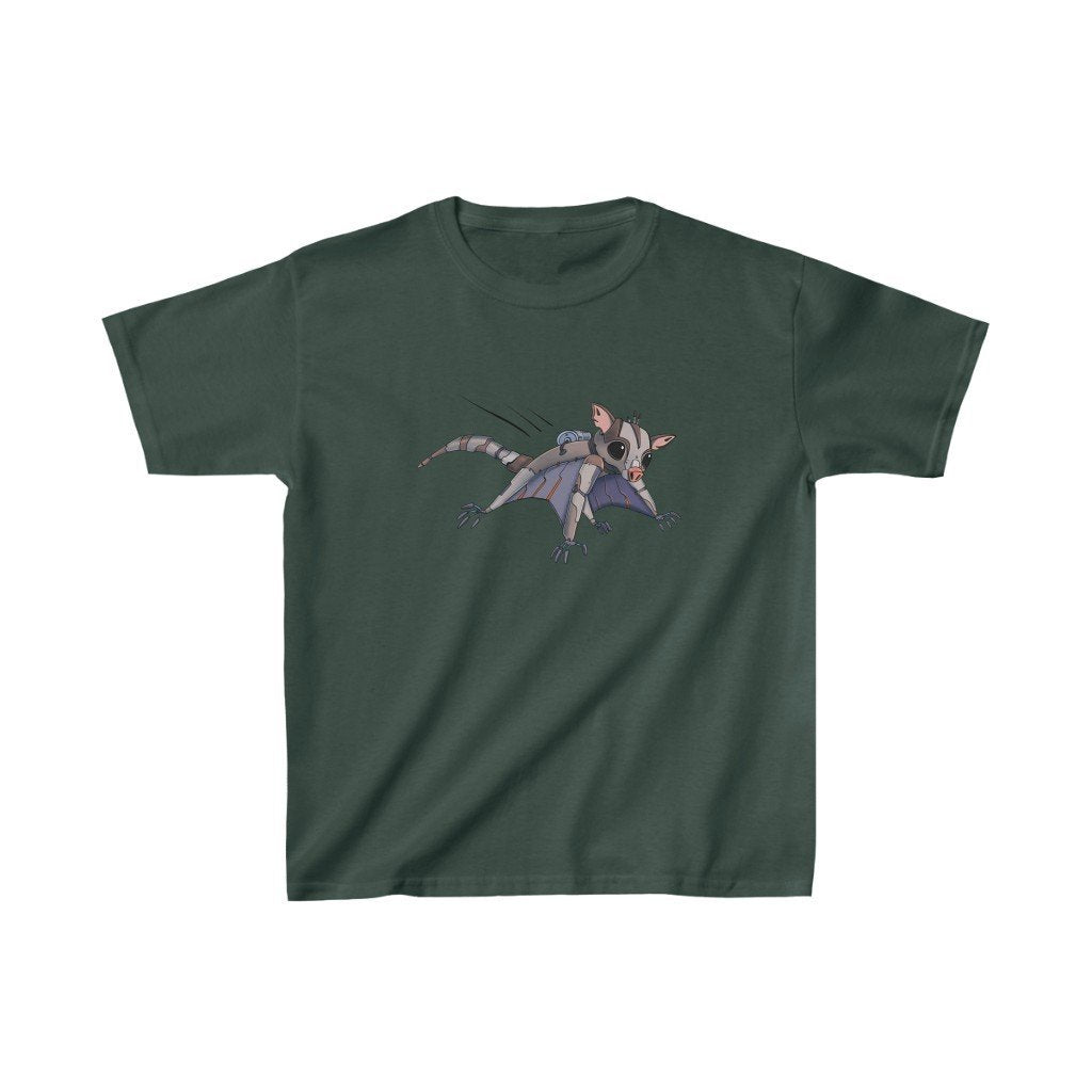 """Sugar Glider Robot"" Kids Heavy Cotton™ T-Shirt (Youth) - Dan Pearce Creative Shop"