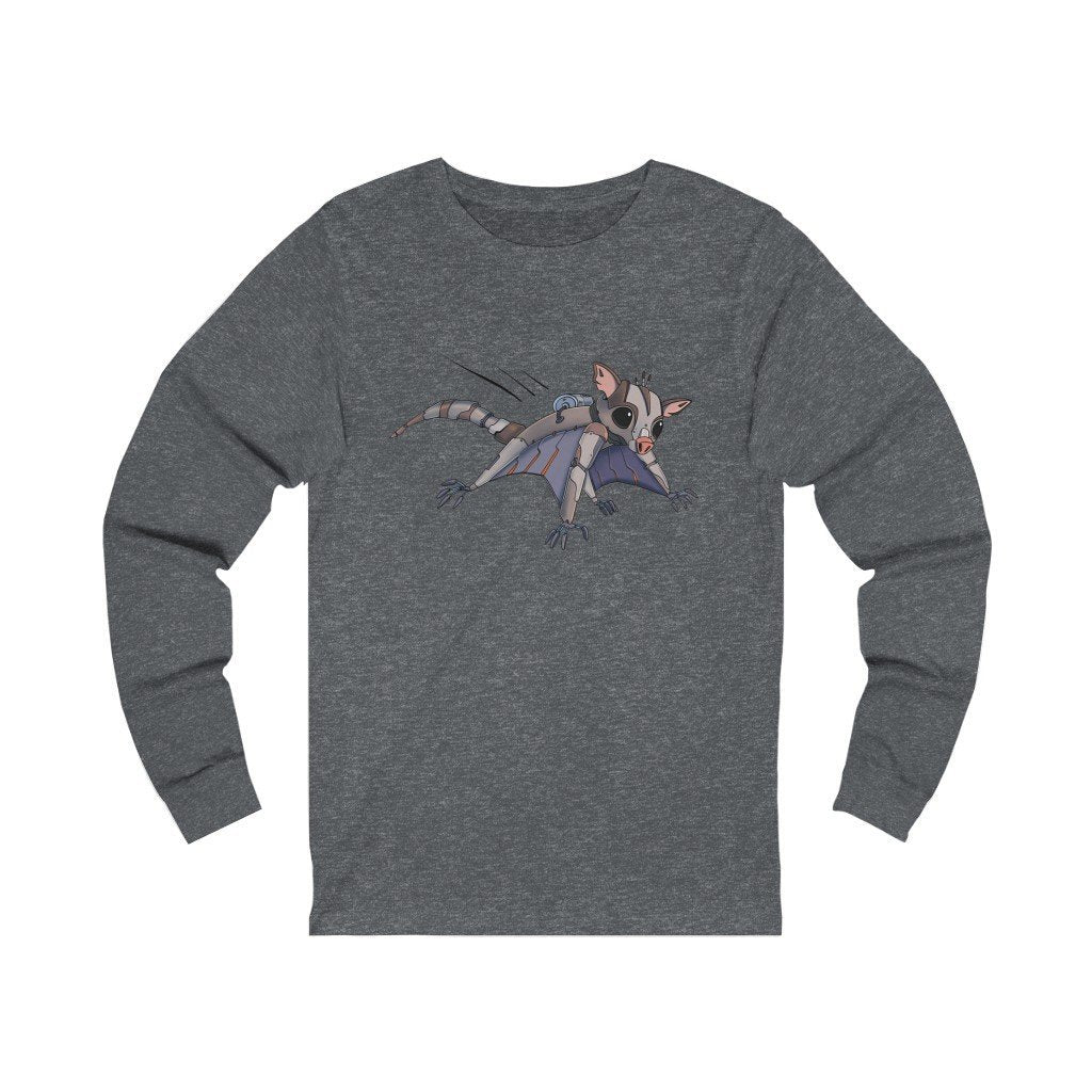 """Sugar Glider Robot"" Long-Sleeve Premium T-Shirt - Dan Pearce Creative Shop"