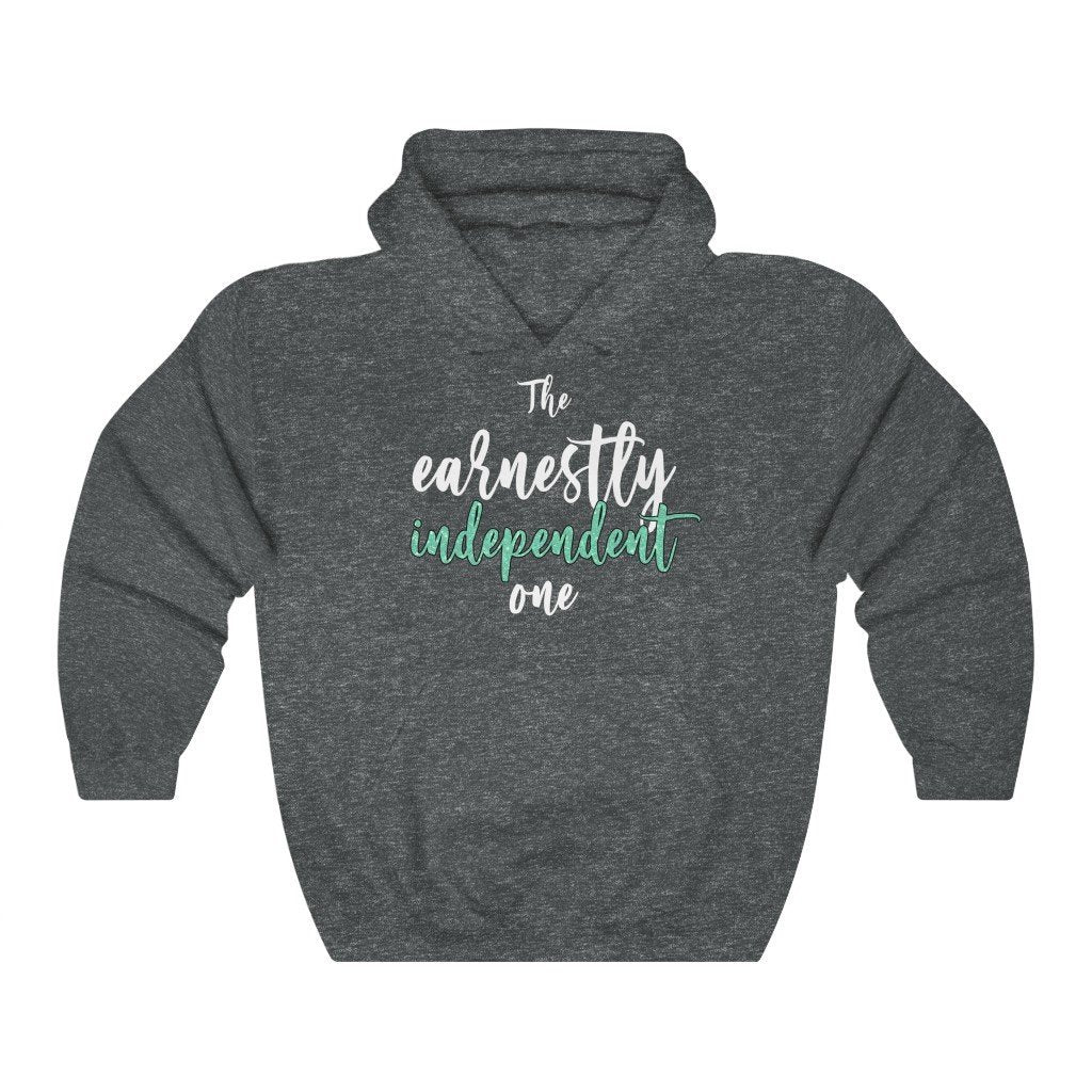 """The Earnestly Independent One"" Hoodie - Quirk Shirts - Premium Hooded Sweatshirt - Dan Pearce Creative Shop"