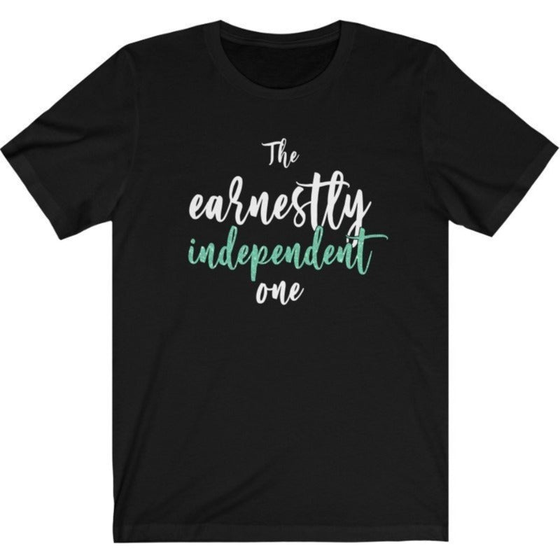 """The Earnestly Independent One"" - Quirk Shirts Series - Premium Unisex Tee - Dan Pearce Creative Shop"