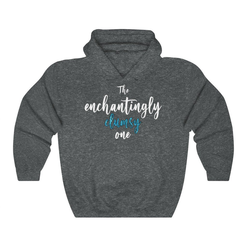 """The Enchantingly Clumsy One"" Hoodie - Quirk Shirts - Premium Hooded Sweatshirt - Dan Pearce Creative Shop"