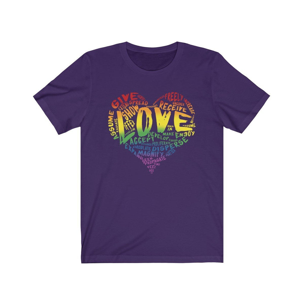 The Official LOVE Premium T-Shirt - Dan Pearce Creative Shop