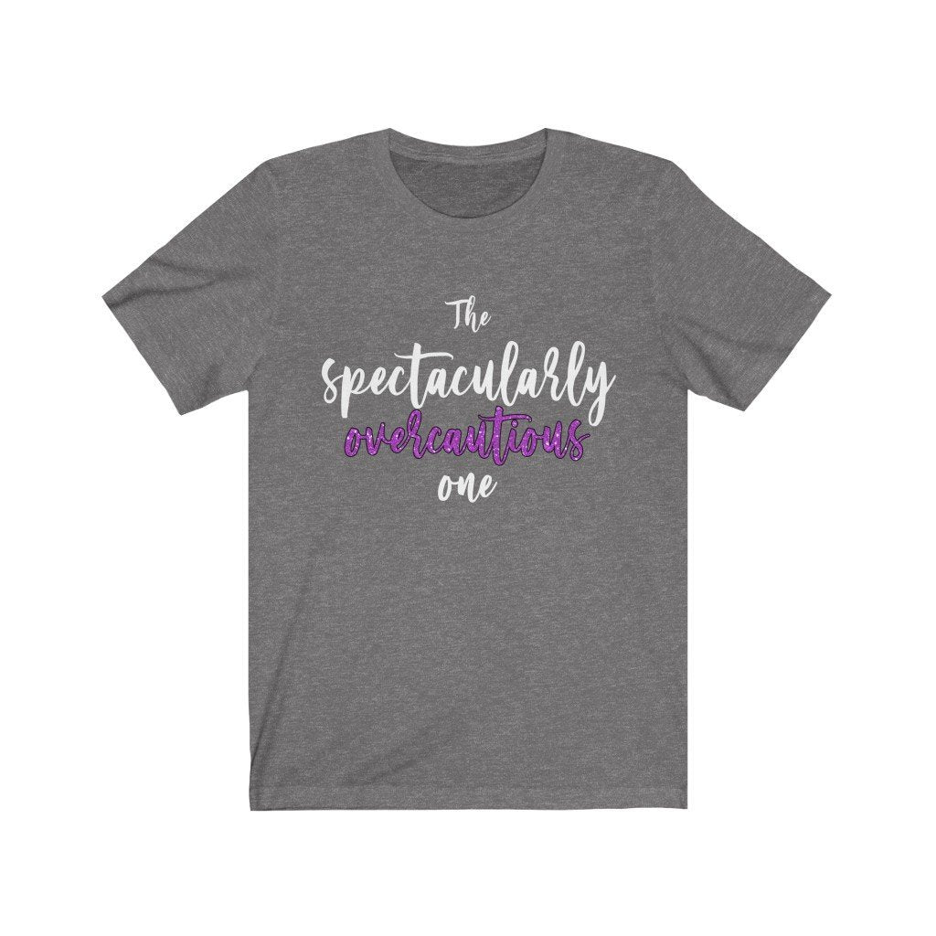 """The Spectacularly Overcautious One"" - Quirk Shirts Series - Premium Unisex Tee - Dan Pearce Creative Shop"