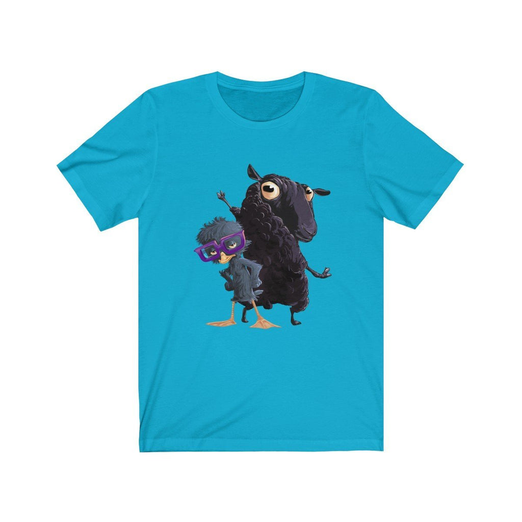 """The Ugly Duckling and Black Sheep"" Premium T-Shirt - Dan Pearce Creative Shop"
