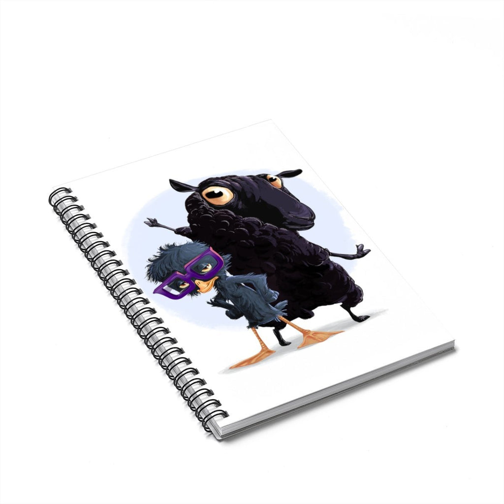 """The Ugly Duckling and the Black Sheep"" Designer Notebook - Dan Pearce Creative Shop"