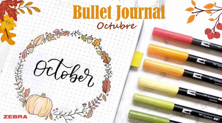 Ideas de Bullet Journal para octubre