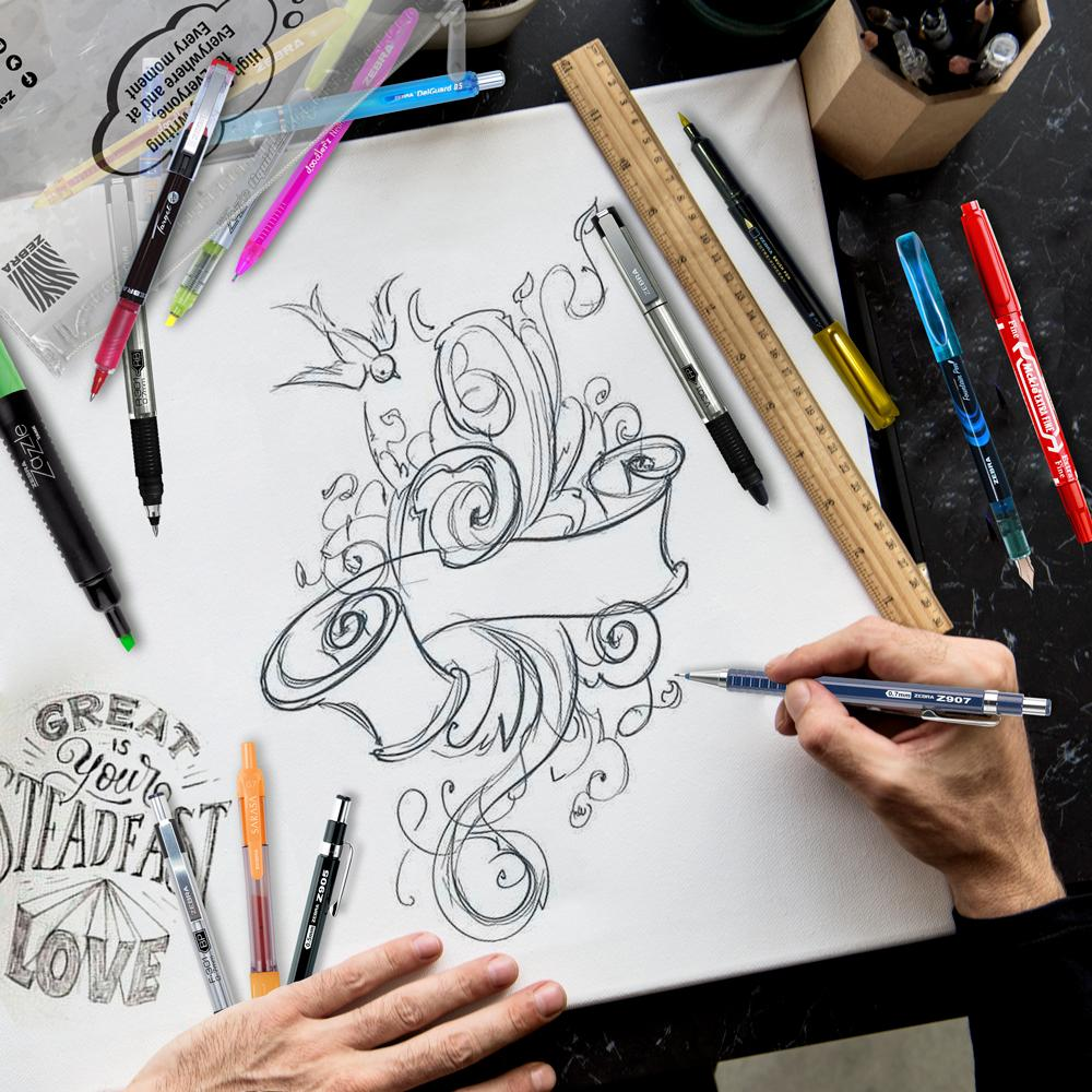 Paquete Lettering & Sketching
