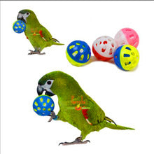 Pet Parrot Toy Bird Hollow Bell Ball For Parakeet Cockatiel Chew Fun Cage Toys  (AE)