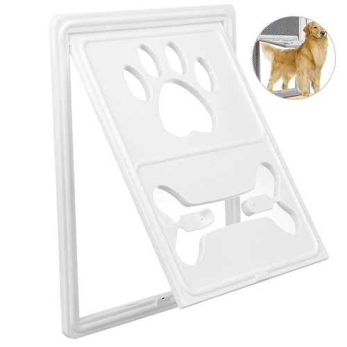Multi-functional Pet Screen Door w/ snap latch