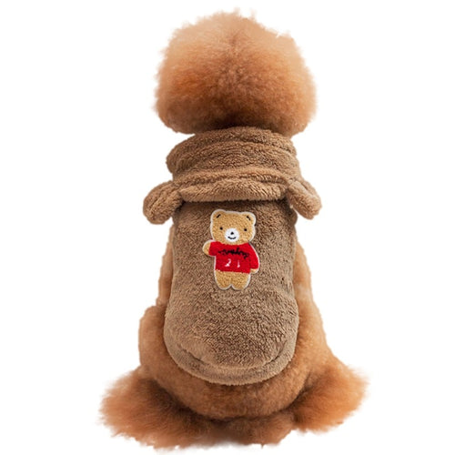 Fleece Pet Dog Clothes Winter Clothes