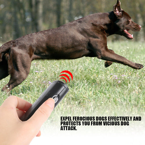 Anti Barking  Device Portable Handheld Ultrasonic Repeller 3 in 1 (AE)