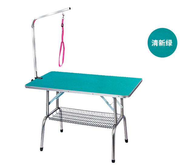 Foldable Stainless Steel Pet Grooming Table  (AE)