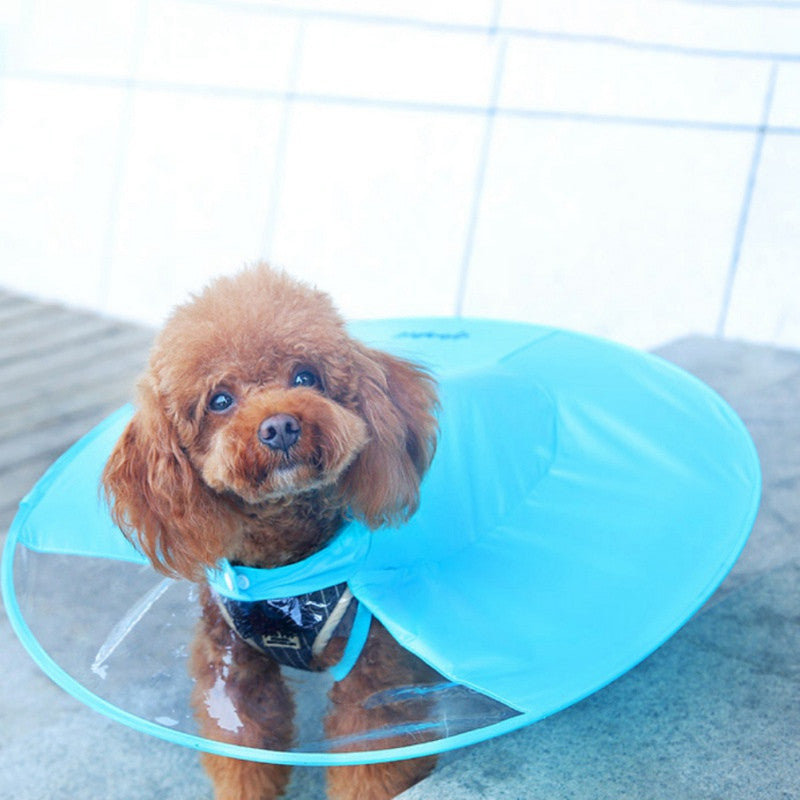 Pet Dog Rain Coat Clothes Raincoats for Dogs  (AE)