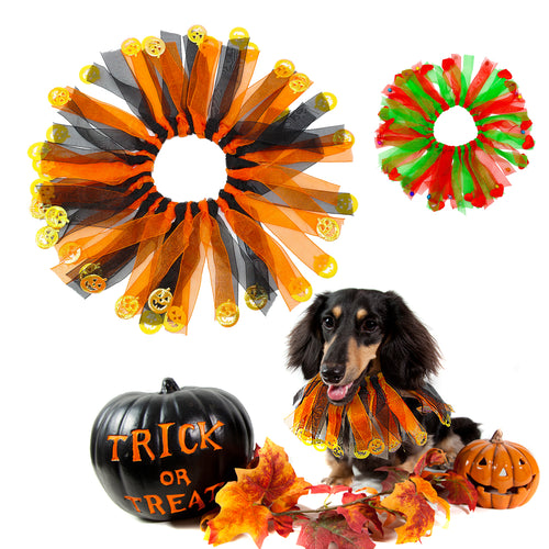 Collar Necklace Festival Pet Supplies Costume f  (AE)