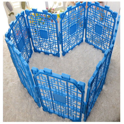 Exercise Pet Playpen without Door  40*30cm Yard Folding Fence   (AE)