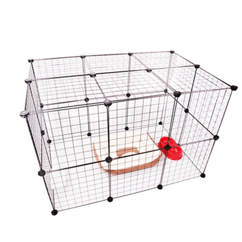 Transparent Isolation Dog Fence Barrier Multi-functional  Kennel  (AE)