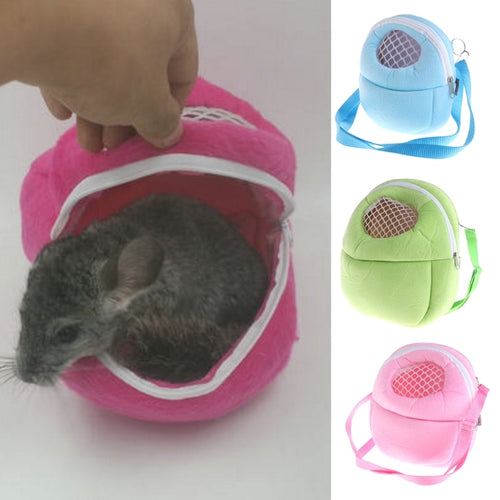 Fashion Design Small Pet Carrier Warm Hanging Bag   (AE)