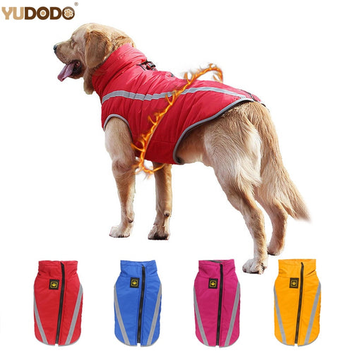 Reflective Dog Coat Jackets Winter Waterproof XL-6XL  (AE)