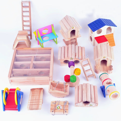 Hamster Hide Play Fun Accessories