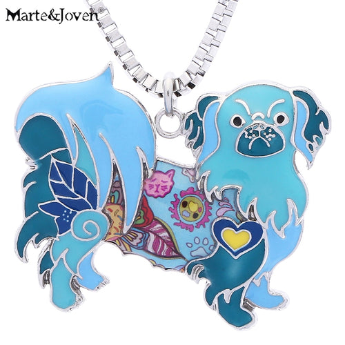 Pekingese Pendants Necklace