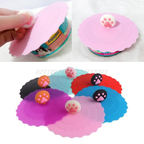 Pet Food Can Cover Silicone Storage Cap