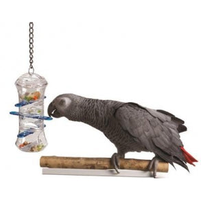 Parrot Toys Push and Pull Interactive Treat Holder    (AE)