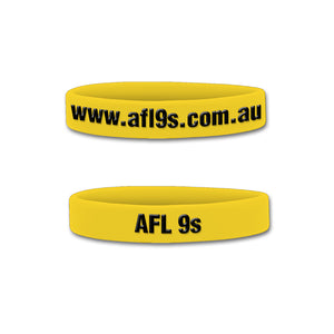 AFL 9s Junior Wristband (Pack of 10)