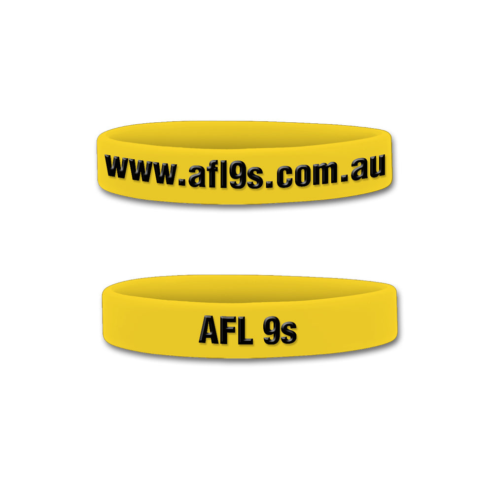AFL 9s Senior Wristband (Pack of 10)