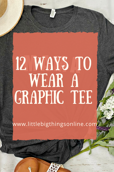 12 Ways to Wear a Graphic Tee