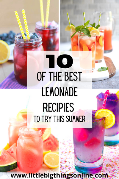 The Best Lemonade Recipes To Try This Summer