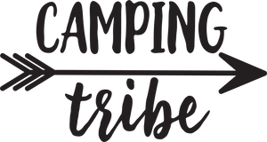 Camping Tee With Arrows - Multiple Designs
