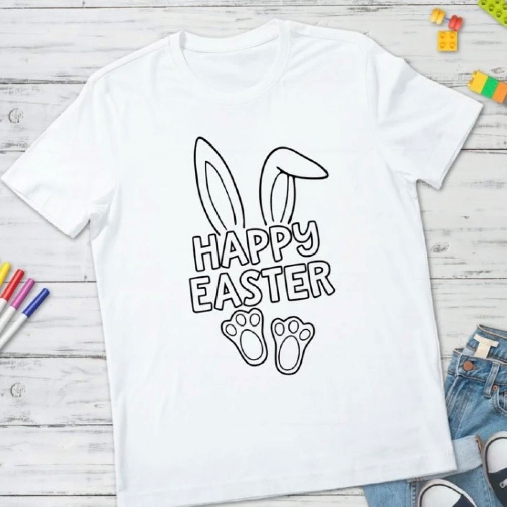 Easter Color Me Tees