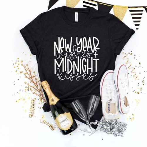 New Year Wishes & Midnight Kisses