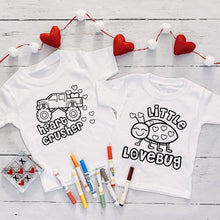 Load image into Gallery viewer, Valentine Color Me Tees