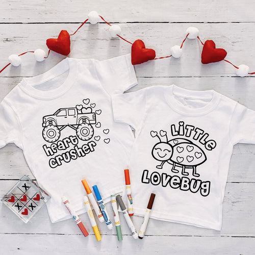 Valentine Color Me Tees