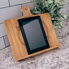 Load image into Gallery viewer, Personalized Bamboo Chef Easel