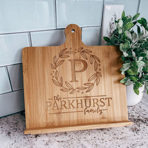 Personalized Bamboo Chef Easel