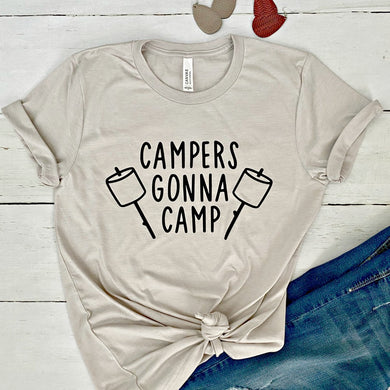 Funny Camping Tees - Multiple Designs