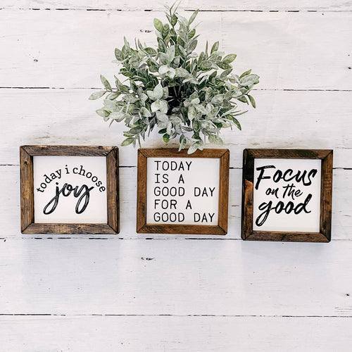 Inspirational Mini Signs