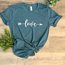 Load image into Gallery viewer, Love Tees - Multiple Designs (+FREE EARRINGS)