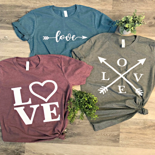 Love Tees - Youth & Adult Sizes