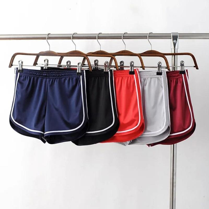 YNZZU New Women Shorts Casual satin Short Pants black red spring summer Femme Short Feminino Pantalones Cortos Mujer YB056-rodewe