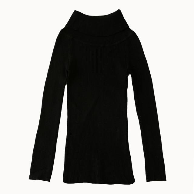 by Megyn women pullover sweater sexy off shoulder elastic bodycon winter knitted sweater female christmas party jumper sweaters-rodewe